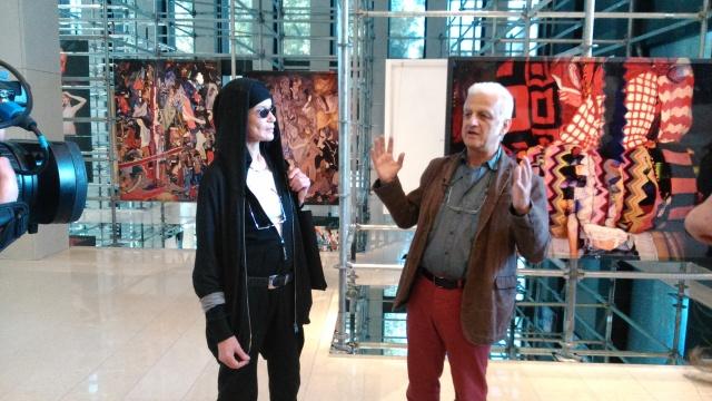Vera Lehndorff i Holger Trulzsch opowiadają o swojej wystawie.