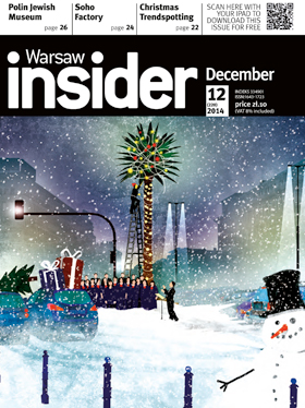 Warsaw Insider dec 2014 cover
