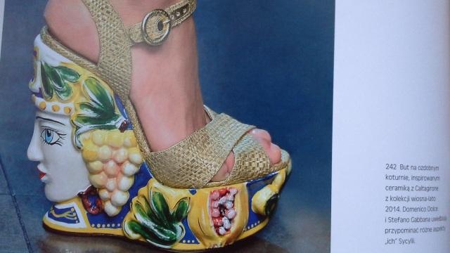 Buty projektu Dolce & Gabbana